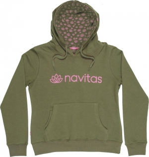 Navitas Womens Hoody green