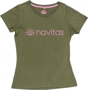 Navitas Womens Tee Green