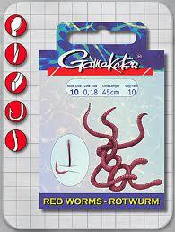 Gamakatsu Rotwurm Gr.10 45cm
