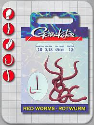 Gamakatsu Rotwurm Gr.12 45cm