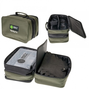 Zeck Fishing Rig Bag Pro + Tackle Box WP M