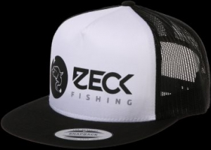 Zeck Trucker Snapback Cap Black and white
