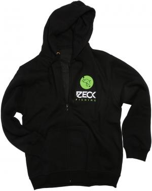 Zeck Zip Hoodie Black