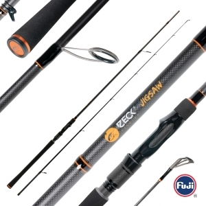Zeck Fishing Jigsaw 240cm 10-40gr.