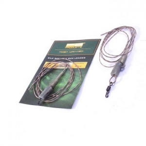 PB Products Silk Ray Hit & Run Chod Leader 90cm Gravel