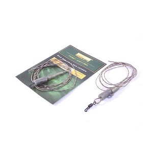 PB Products Silk Ray Hit & Run Chod Leader 90cm Weed 2pcs