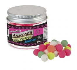 Anaconda Micro Neon Pop Ups Neutral Weiß 10mm