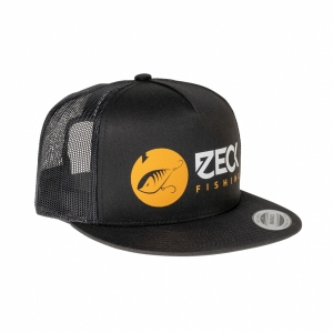 Zeck Fishing Snapback Black