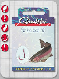 Gamakatsu Forelle Gr.6 60cm