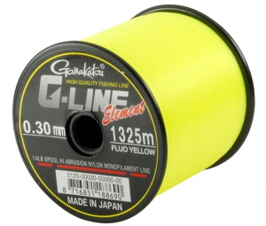 Gamakatsu G-Line Element Fluo Yellow