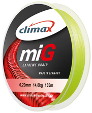 Climax Mig Extreme Braid 0,18mm 13kg 1000m