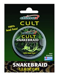 Climax Snakebraid Leadcore 30 lb weed
