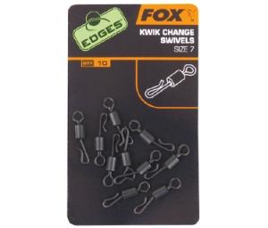 Fox Edges Kwik Change Swivels 10