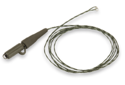 Climax Lead Core Leader with Safety Bolt 70cm 25lbs 2Stk.