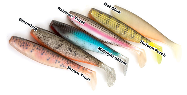 Fox Rage Pro Shad Natural Classics Rainbow Trout 14cm