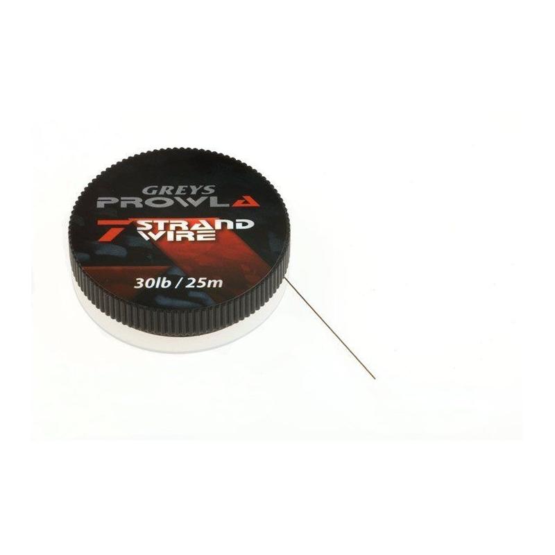 Greys Prowla 7 Strand Wire 9kg/20lb 25m