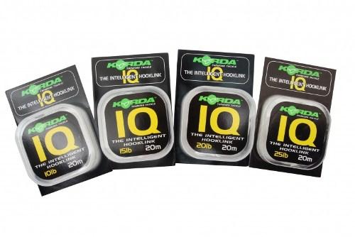 Korda IQ- The Intelligent Hooklink-20m 15lb