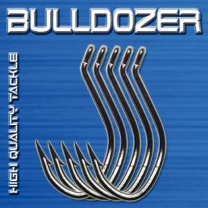 Bulldozer Einzelhaken Wallerhaken 8/0 5Stk.