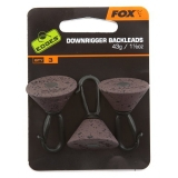 Fox Edges Back Leads 21g x 3 - Camo Brown