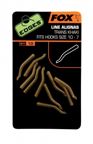 Edges Trans Khaki Line Aligna Hook Size 10 - 7