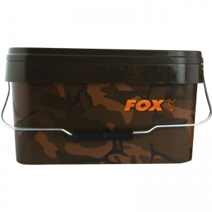 FOX Camo Square Bucket - 5 Liter