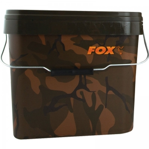 FOX Camo Square Bucket - 10 Liter