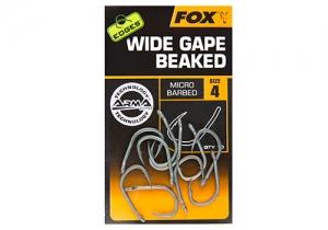 Fox Edges Wide Gape Beaked Barbless Hooks