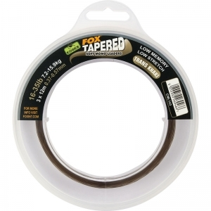 FOX Edges Soft Tapered Leader 12-30 lb - 0,30-0,50 mm