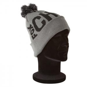 Fox - Chunk Bobble Hat Black & Grey