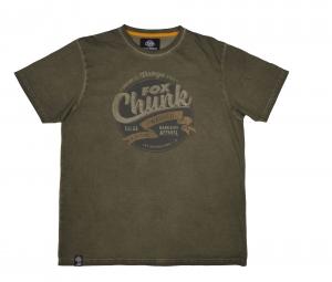 Fox Chunk Stonewash T-Shirt Khaki