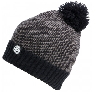FOX Chunk Bobble Hat - Grey/Black Marl Bobble