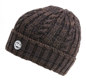 Bekleidung Kopfbekleidung Quantum Mr Pike Winter Beanie grau Angler Winter-Mütze