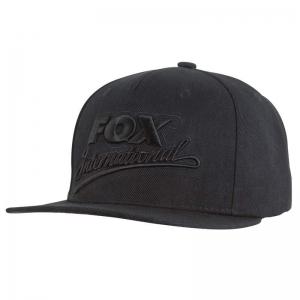 Fox Flat Peak Snap Back Black/Camo