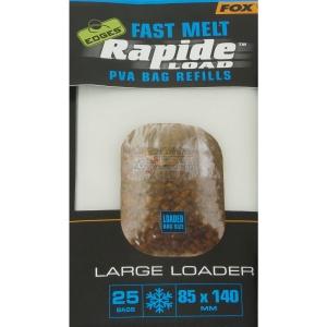 FOX Edges Rapide Load PVA Bag Refills 85x140mm