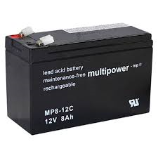 Multipower MP8-12C Bleiakku 12V 8Ah zyklenfest