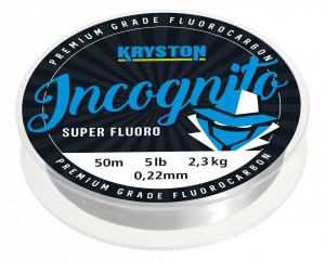 Kryston Incognito Super Fluord 0,45mm 20lb  20meter Hookline