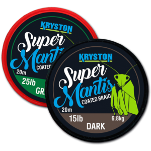 Kryston Super Mantis Coated Braid Dark 20m