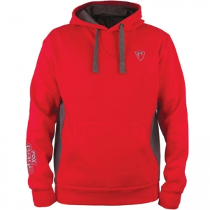 FOX-Rage Ribbed Hoody Red/Grey