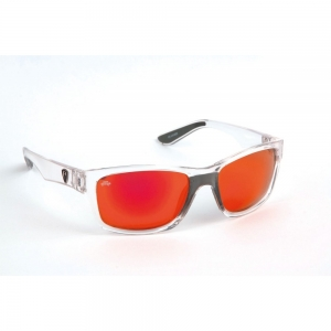 Fox Rage - Sunglasses Trans / Mirror Red Finish / Grey Lens