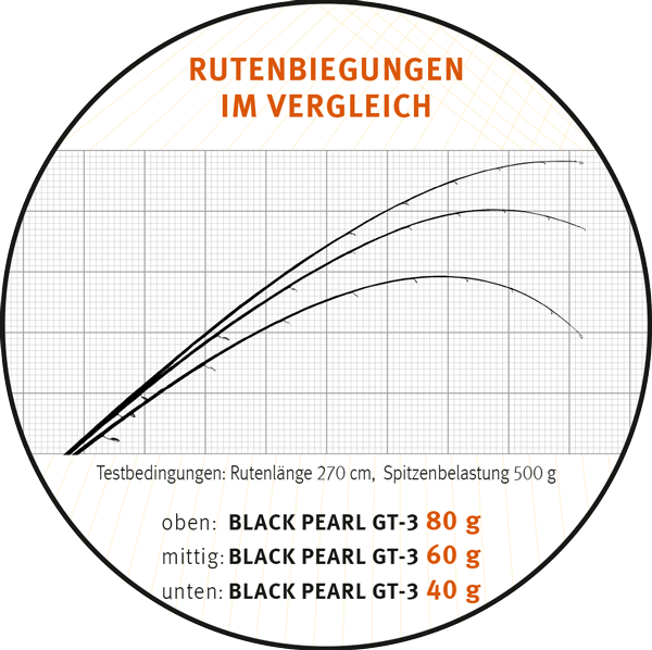 Sportex Black Pearl GT 3 240cm 12 31gr. Boilie & More