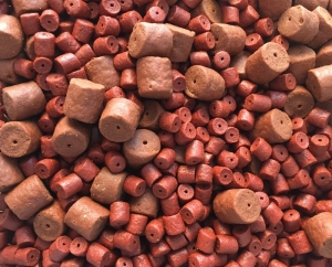 Coppens Red Halibut Pellet 8mm mit Loch